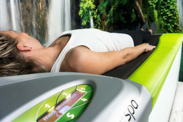 medi stream spa Überwasser-Massage-Liege