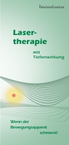 Flyer Lasertherapie